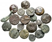 Lot of ca. 20 ancient coins / SOLD AS SEEN, NO RETURN!very fine