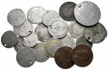 Lot of ca. 20 modern world coins / SOLD AS SEEN, NO RETURN!fine