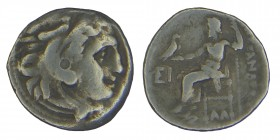 Kings of Macedon. Alexander III, (336-323) BC. lampsacus. Silver, drachm. Uncertain mint. lampsacus, Condition: good very 4,30 gr. 16 mm.