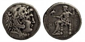 Kings of Macedon.SELEUKID, EMPIRE. (312-281) BC.  silver, Tetradrachm. In the name and types of Alexander III of Macedon. Babylon, I mint. Struck circ...