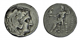 Kings of Macedon. Seleucus I, (312-281) BC.  AR Tetradrachm sılver In the name and types of Alexander III of Macedon. Babylon I mint. Struck circa 311...