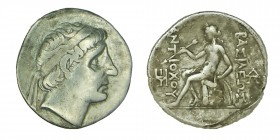 Kings of Macedon. Seleucus Antiochos I, (312-281) BC.  AR Tetradrachm sılver In the name and types of Alexander III of Macedon. Babylon I mint. Struck...