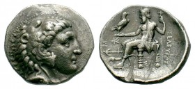 Kingdom of Macedon, Alexander III 'The Great' (336-323 B.C.). AR Tetradrachm Condition: Very Fine  Weight: 16,60 gr Diameter: 24,80 mm