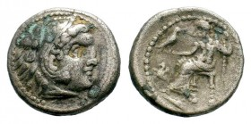 Kingdom of Macedon, Alexander III 'The Great' (336-323 B.C.). AR drachm Condition: Very Fine  Weight: 3,94 gr Diameter: 17,30 mm