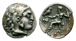 Kingdom of Macedon, Alexander III 'The Great' (336-323 B.C.). AR drachm Condition: Very Fine  Weight: 3,93 gr Diameter: 17,50 mm