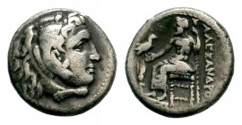 Kingdom of Macedon, Alexander III 'The Great' (336-323 B.C.). AR drachm Condition: Very Fine  Weight: 4,12 gr Diameter: 16,40 mm