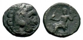 Kingdom of Macedon, Alexander III 'The Great' (336-323 B.C.). AR drachm Condition: Very Fine  Weight: 4,13 gr Diameter: 15,75 mm