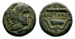 Kingdom of Macedon, Alexander III 'The Great' (336-323 B.C.). AE Condition: Very Fine  Weight: 5,51 gr Diameter: 16,20 mm
