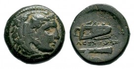 Kingdom of Macedon, Alexander III 'The Great' (336-323 B.C.). AE Condition: Very Fine  Weight: 6,69 gr Diameter: 18,00 mm