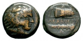 Kingdom of Macedon, Alexander III 'The Great' (336-323 B.C.). AE Condition: Very Fine  Weight: 6,00 gr Diameter: 18,90 mm