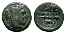 Kingdom of Macedon, Alexander III 'The Great' (336-323 B.C.). AE Condition: Very Fine  Weight: 5,01 gr Diameter: 18,35 mm