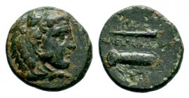 Kingdom of Macedon, Alexander III 'The Great' (336-323 B.C.). AE Condition: Very Fine  Weight: 4,34 gr Diameter: 18,00 mm