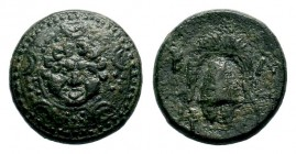 Kingdom of Macedon, Alexander III 'The Great' (336-323 B.C.). AE Condition: Very Fine  Weight: 4,50 gr Diameter: 16,60 mm