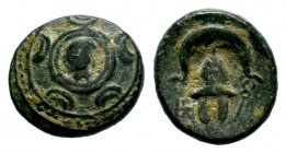 Kingdom of Macedon, Alexander III 'The Great' (336-323 B.C.). AE Condition: Very Fine  Weight: 3,82 gr Diameter: 15,60 mm