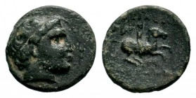 Kings of Macedon. Philip II (359-336 BC). AE  Condition: Very Fine  Weight: 3,65 gr Diameter: 17,40 mm