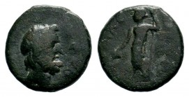 Greek Coins, 3rd century BC Condition: Very Fine  Weight: 3,44 gr Diameter: 16,40 mm