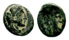 Greek Coins, 3rd century BC Condition: Very Fine  Weight: 1,51 gr Diameter: 12,30 mm