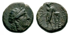 SELEUKID KINGS OF SYRIA. Seleukos IV Philopator (187-175 BC). Ae. Antioch. Condition: Very Fine  Weight: 4,49 gr Diameter: 14,90 mm