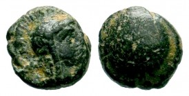 PAMPHYLIA. Side. Ae (1st century BC). Condition: Very Fine  Weight: 1,06 gr Diameter: 9,50 mm