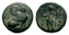 PAMPHYLIA. Perge. Ae (Circa 260-230 BC).  Condition: Very Fine  Weight: 3,81 gr Diameter: 15,40 mm