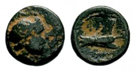 PHOENICIA. Arados (2nd century BC). Ae.  Condition: Very Fine  Weight: 3,31 gr Diameter: 15,00 mm