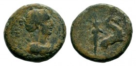 LYDIA. Hierocaesarea. Pseudo-autonomous. Ae (Circa 1st century AD). Condition: Very Fine  Weight: 2,77 gr Diameter: 14,35 mm