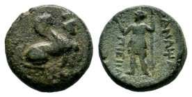 PAMPHYLIA. Perge. Ae (Circa 260-230 BC).  Condition: Very Fine  Weight: 3,93 gr Diameter: 15,60 mm