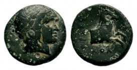 IONIA. Kolophon. Circa 360-330 BC. AE  Condition: Very Fine  Weight: 2,02 gr Diameter: 13,40 mm
