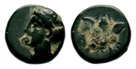 Greek Coins , Uncertain , Condition: Very Fine  Weight: 1,37 gr Diameter: 10,55 mm
