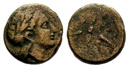 MYSIA. Gambrium. Ae (4th century BC). Condition: Very Fine  Weight: 3,70 gr Diameter: 15,50 mm