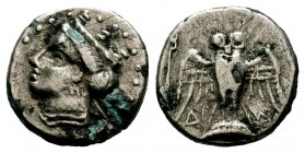Amisos, Pontos Circa 350BC, Drachm,  Condition: Very Fine  Weight: 4,44 gr Diameter: 19,00 mm