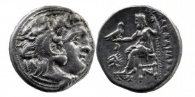 Kings of Thrace. Kolophon. Macedonian. Lysimachos 305-281 BC.   In the name and types of Alexander III of Macedon. Struck circa 301/0-300/299 BC Head ...