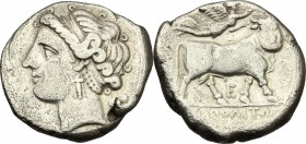 Central and Southern Campania, Neapolis. AR Didrachm, c. 275-250 BC