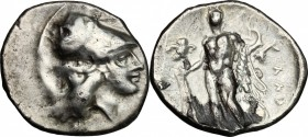 Southern Lucania, Heraclea. AR Stater, c. 281-278 BC
