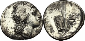 Southern Lucania, Metapontum. AR Stater, c. 330-290 BC