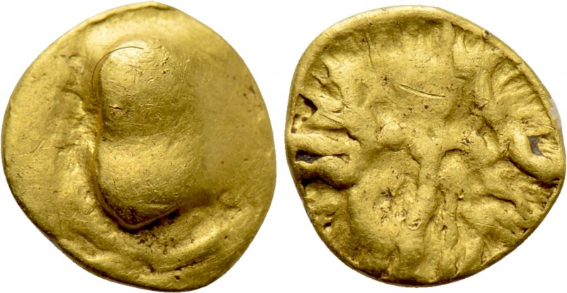 "CENTRAL EUROPE. Boii. GOLD 1/24 Stater (2nd-1st centuries BC). ""Athena Alkis"" ty..."
