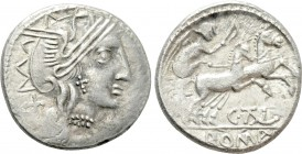EASTERN EUROPE. Imitations of Roman Republican. Denarius. Imitating C. Thalna.