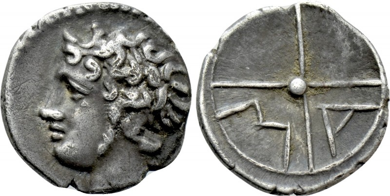 GAUL. Massalia. Obol (Circa 100-50 BC). 