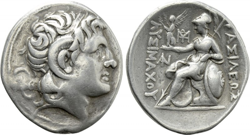 KINGS OF THRACE (Macedonian). Lysimachos (305-281 BC). Tetradrachm. 