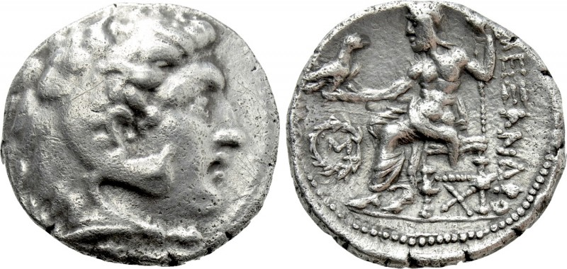 KINGS OF MACEDON. Alexander III 'the Great' (336-323 BC). Tetradrachm. Contempor...