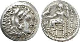 KINGS OF MACEDON. Alexander III 'the Great' (336-323 BC). Drachm. Miletos. Lifetime issue.