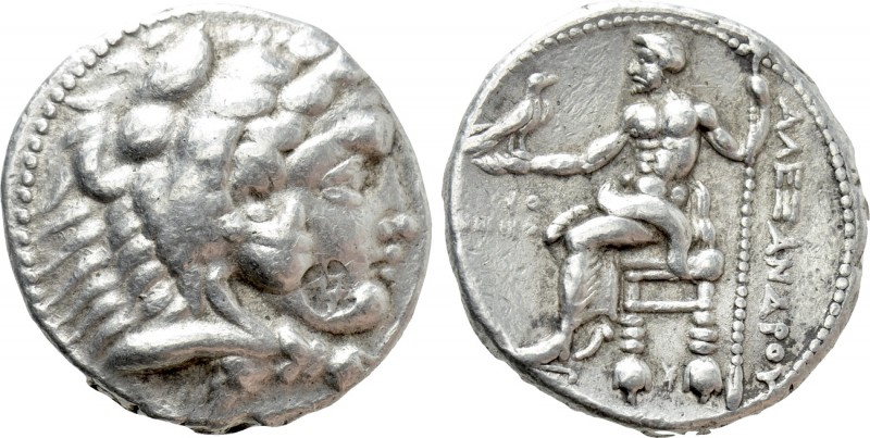 KINGS OF MACEDON. Alexander III 'the Great' (336-323 BC). Tetradrachm. Tyre. Dat...