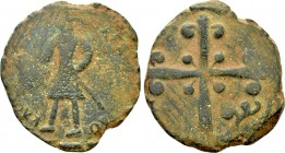 CRUSADERS. Edessa. Baldwin II (Second reign, 1108-1118). Follis.