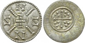 HUNGARY. Anonymous. Denar (12th century).