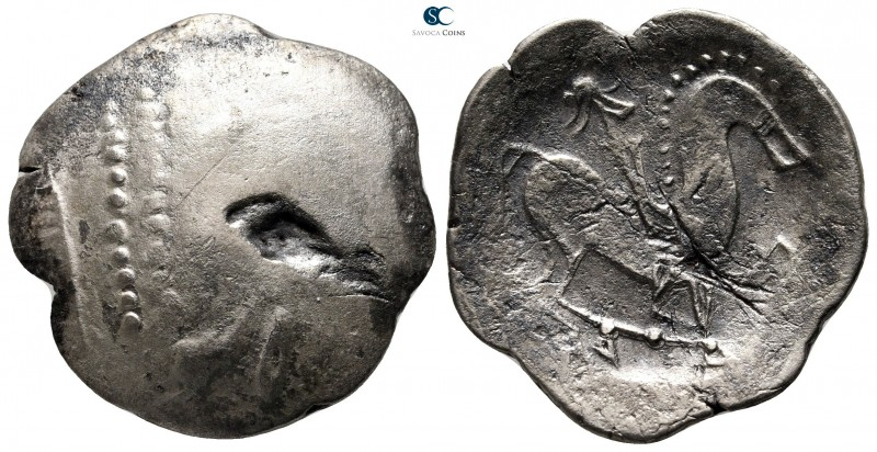 Eastern Europe. Imitation of Philip II of Macedon 300-200 BC. 