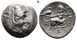 Danube Region. Imitating Philip III of Macedon circa 200-100 BC. Drachm AR