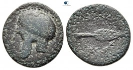 Kings of Macedon. Uncertain mint. Kassander 306-297 BC. Unit Æ