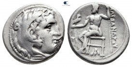 Kings of Macedon. Sardeis. Philip III Arrhidaeus 323-317 BC. In the name and types of Alexander II. Drachm AR