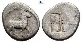 Kings of Macedon. Aigai. Alexander I 495-450 BC. Tetrobol AR