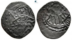 Ivan Aleksander AD 1331-1371. Second empire. Trachy AE